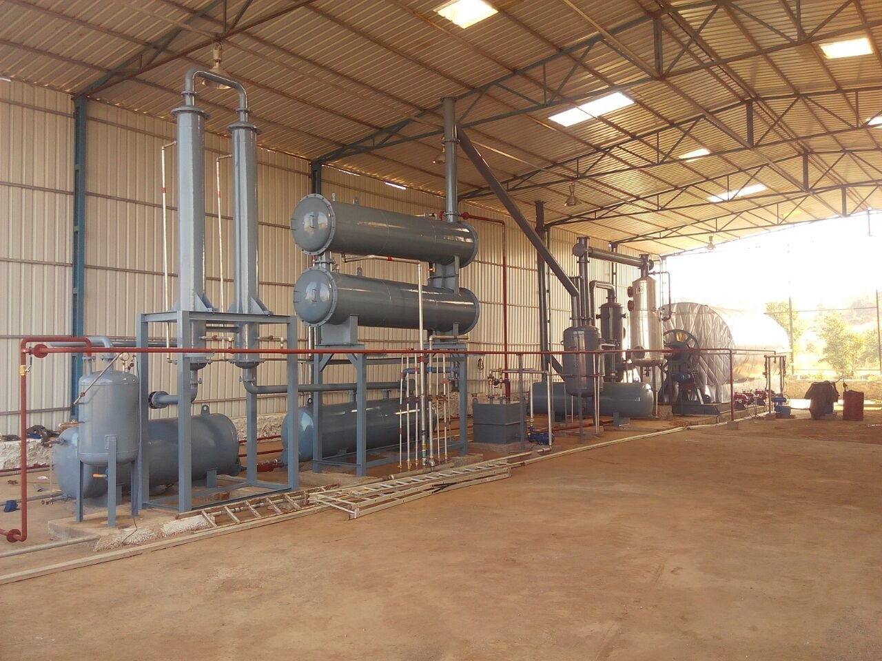 Plastic pyrolysis plant India 17