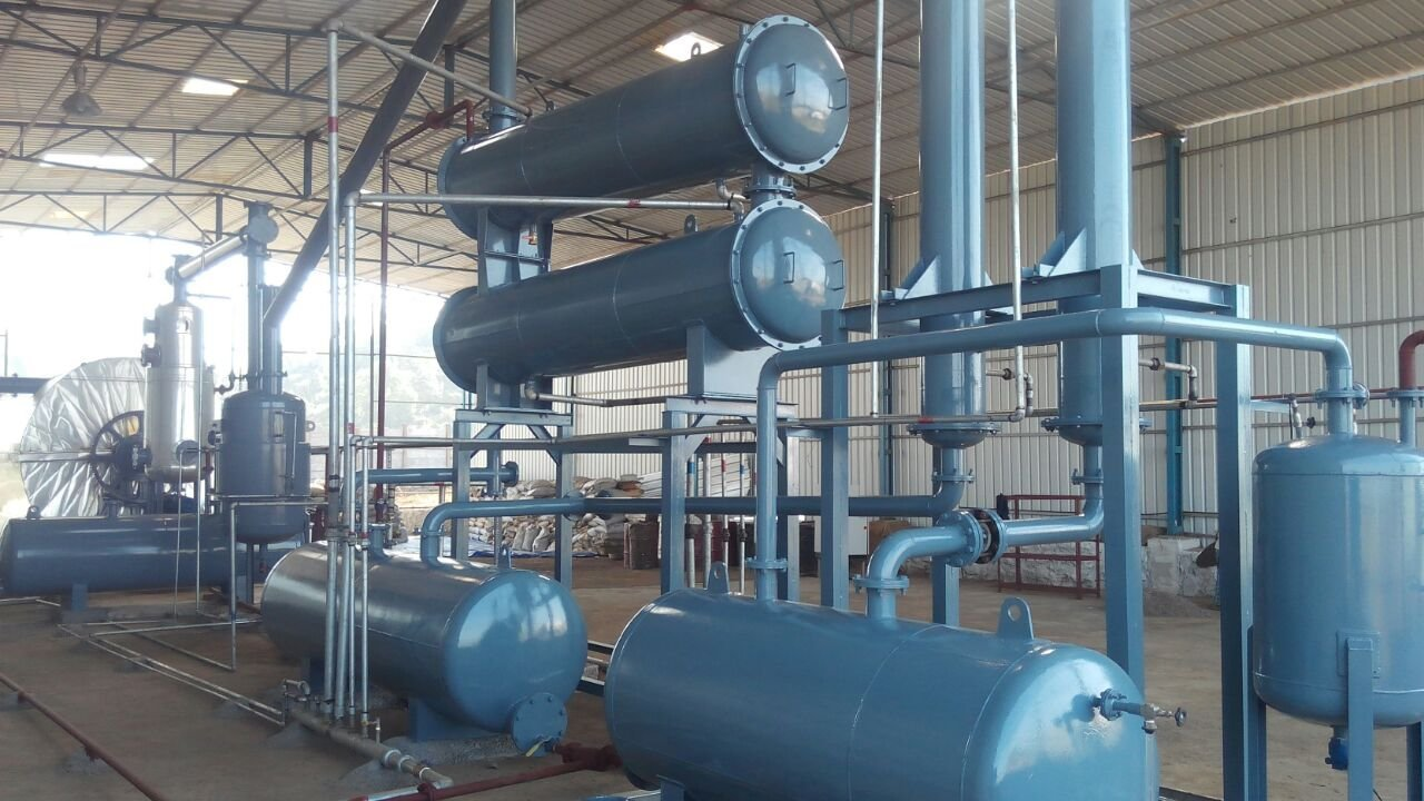 Plastic pyrolysis plant India 6