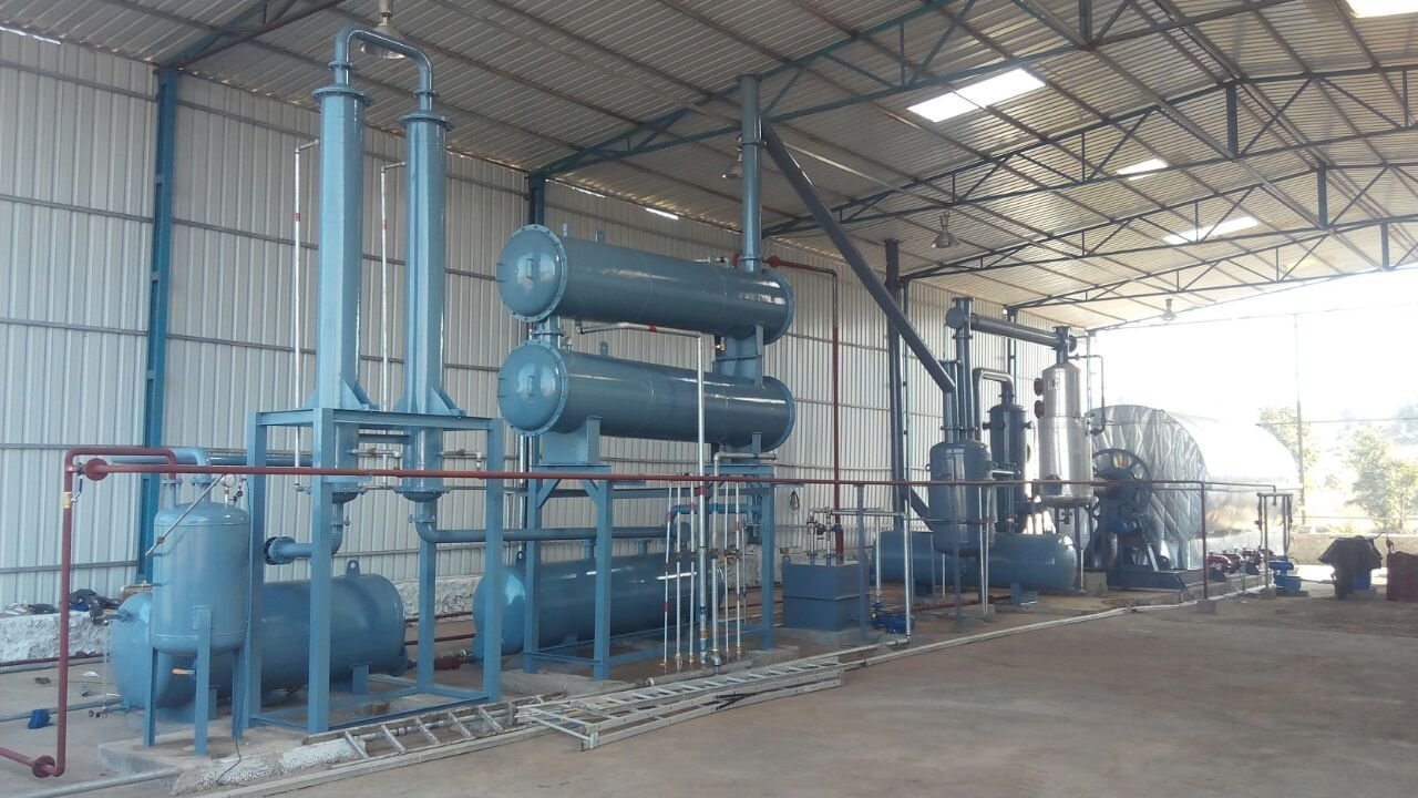 Plastic pyrolysis plant India 7
