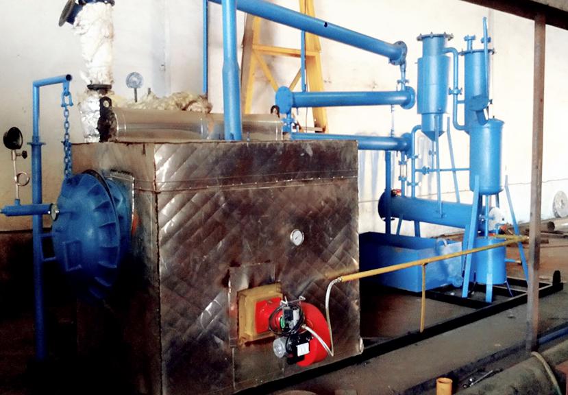 100 kg portable pyrolysis plant